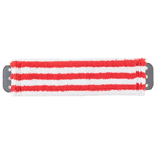 Unger MD40R SmartColor MicroMop 70 16 Red Wet  Dry Mop Pad