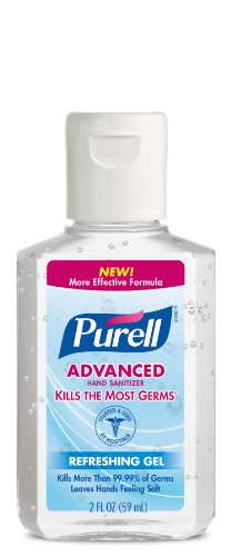 Purell Instant Hand Sanitizer 2 Ounce Pack of 12