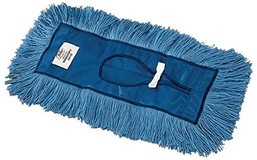 Fuller Commercial Products 24118 Workstar Dry Mop Head Blue Synthetic 185