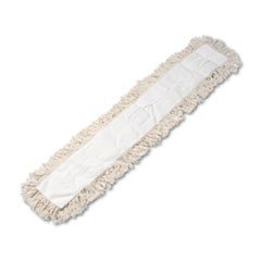 Industrial Dust Mop Head Hygrade Cotton 48w x 5d White