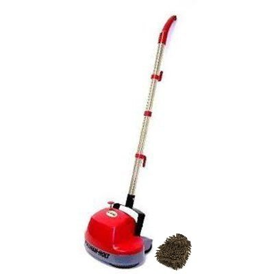 B200752 Pullman Holt Gloss Boss Mini Floor Scrubber Complete Set w Bonus Premium Microfiber Cleaner Bundle