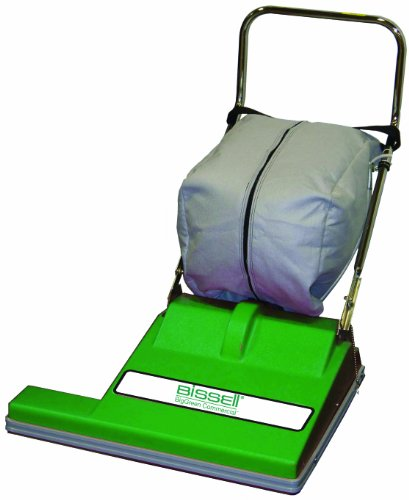 BISSELL BigGreen Commercial BG-CC28 Extra Wide Vacuum Cleaner 28 Cleaning Path 365 Height 29 Length 36 Width