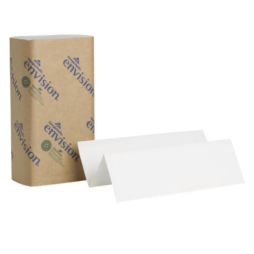 Georgia Pacific 24590 Envision Multifold Paper Towels White Poly-bag Protected 1 Individual Pack of 250