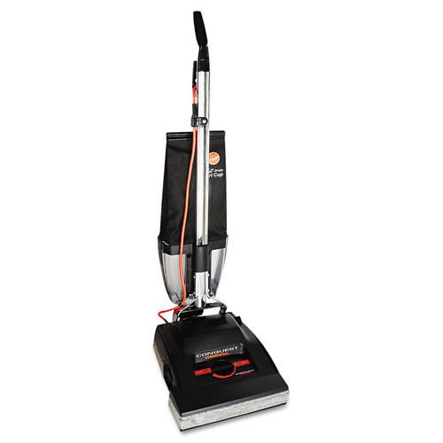 Hoover Commercial C1800-010 Conquest Bagless Upright Vacuum with 14 Cleaning Path