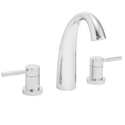 Neo Double Handle Roman Tub Faucet Finish Polished Chrome