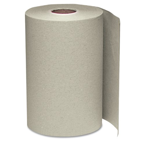 Windsoft 108 Nonperforated Paper Towel Roll 8 x 350 Natural Case of 12