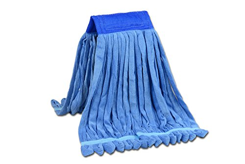 Medium Microfiber Tube Mop  Industrial Wet Mop  Absorbent and Durable with Great Cleaning Power 1