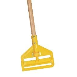Rubbermaid Commercial Invader Wet Mop Handle 60-Inch Blue FGH116000000